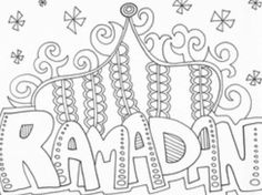 Return to Holidays Return to Islam Coloring For Kids, Coloring Pages, Eid Mubarak, Islam For Kids, Islamic Studies, Worksheets, Activities For Kids, Teaching, Pictures