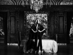 Georgia May Jagger by Hedi Slimane for <em>Harpers Bazaar US</em> November 2010