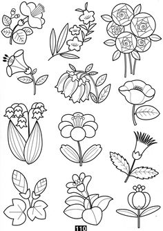vintage transfer patterns for embroideryvintage western embroidery patterns Doodle Coloring, Colouring Pages, Coloring Books, Doodle Drawings, Easy Drawings, Doodle Art, Flower Drawings, Vintage Embroidery, Embroidery Patterns