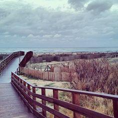 Posada Garden Bridge, Ocean, Outdoor Structures, Clouds, Sky, Beach, Nature, Instagram Posts, Italia