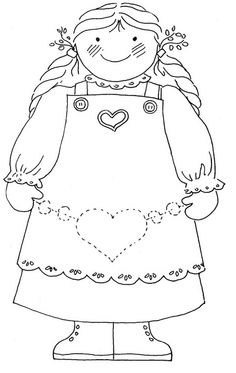 girl by love to sew, via Flickr