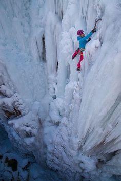 Endurance training for Ice climbing- Endurance training for Ice climbing Endura. Endurance training for Ice climbing- Endurance training for Ice cli Climbing Outfits, Climbing Girl, Ice Climbing, Alpine Climbing, Mountain Climbing, Colorado Tourism, Colorado Hiking, Climbing Tattoo, Climbing Quotes