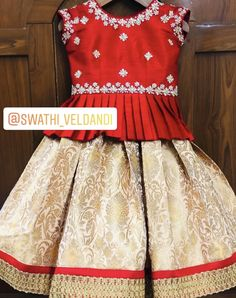 Call/watsapp for details Source by smritimora Blouses Kids Party Wear Dresses, Kids Dress Wear, Kids Gown, Dresses Kids Girl, Kids Wear, Girls Frock Design, Kids Frocks Design, Baby Dress Design, Baby Girl Frocks