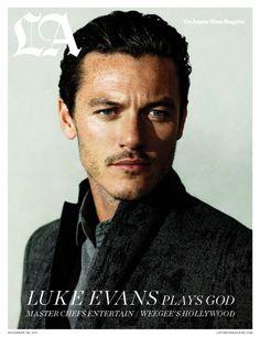 Luke Evans...yes please.