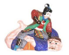 Vintage Japanese Figure of Momotaro