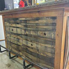 Barrel Bar, Barrel Rings, Bourbon Barrel, Barrel Projects, Diy Projects, Whiskey Barrel Furniture, Bar Shed, Thing 1, Wall Bar