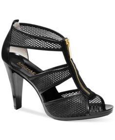 MICHAEL Michael Kors Berkley T-Strap Sandals $99.00 A pump with zip: meet the MICHAEL Michael Kors Berkley sandals.