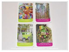 Mardi Gras Sticker Set, New Orleans by #theRDBcollection, $3.00