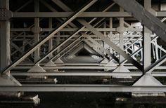 #underthebridge #framework #blackwhitephotography #blackwhite #steel #structure #intricate