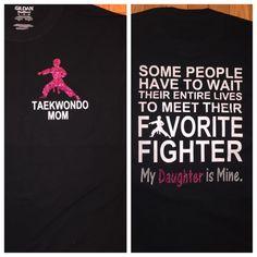 Taekwondo mom Can be made for dad grandma by StudioChaseDesigns