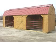This is such a great little barn idea...I think we could build something similar