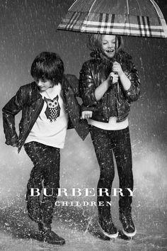 The Burberry Childrenswear Autumn/Winter 2012 campaign