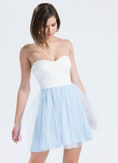 Elsa Lace 'N Tulle Skater Dress