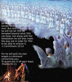 This is an artist's idea of the heavenly angels around Jehovah's throne. Besides that there are those ABOVE the angels, Jesus and his anointed followers. The angels are spearheading the preaching work today, and are there for anyone who cries out to God in sincerity. They enable his sheep to be found and fed.