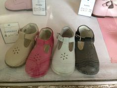 Sweet shoes in Paris window