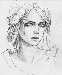 The witcher, ciri ciri art sketches, art drawings и draw. The Witcher, Witcher Art, Drawing Faces, Cool Drawings, Pencil Drawings, Pencil Art, Portrait Sketches, Drawing Sketches, Drawing Ideas