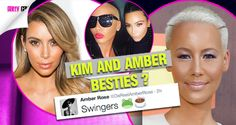 'tea, Anyone?' Amber Rose And Kim Kardashian Send Social Media Into A Complete Frenzy As They Pose For Friendly Selfie After Amber's Epic Kanye Tweet !!!