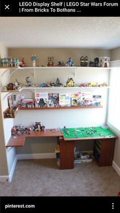 Lego Display Shelves Do It Yourself Home Projects From Ana White Building Projects In 2019