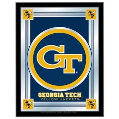 Use this Exclusive coupon code: PINFIVE to receive an additional 5% off the Georgia Tech Logo Mirror at SportsFansPlus.com