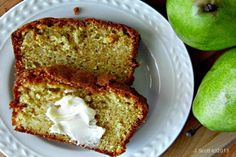 Homemade Bread with Pears Recipes | Bakerette.com