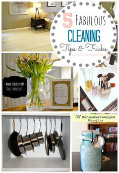 Love Of Family & Home: 5 Fabulous Cleaning Tips & Tricks