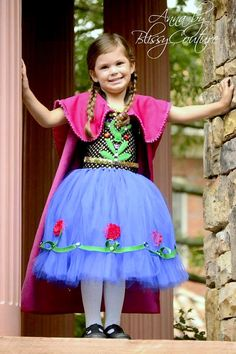 Frozen Anna Princess inspired Disney Tutu Dress by BlissyCouture