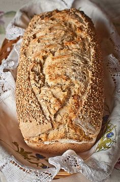 Pan de molde rústico con masa madre - Join Tutorial and Ideas Bread Machine Recipes, Bread Recipes, Cooking Recipes, Pan Bread, Bread Baking, Rustic Bread, Pan Dulce, Artisan Bread, Kombucha