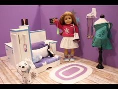 How to Pack For Your American Girl Doll ~ Hotel Overnight Stay! - YouTube