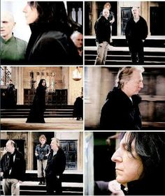 Alan on the set of Deathly Hallows part 2