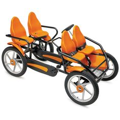 The Touring Quadracycle - I would love this thing! It would be a blast for the whole family :) I wish I wish I wish!!!