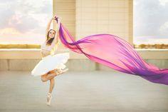 Stacey Dershem Photography | Wichita, Kansas | Sunset Ballerina Senior Session | Beyond The Wanderlust Fan Feature