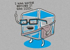 Hipster Ice Cube