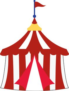 Excellent Images For - Carnival Tent Clipart  sc 1 st  Pinterest & Circus tent pattern. Use the printable outline for crafts ...