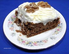 Karithopita (Greek Walnut Cake)