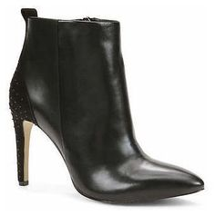 91af26aeb061 Lisa Studded Leather Shooties by Ann Taylor