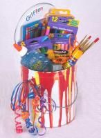 arts and crafts gift basket ideas auction baskets on gift baskets baskets and 7442