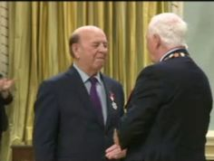 Bob Cole receives Order of Canada