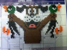 Duck Hunt Perler beads by Khoriana on deviantART