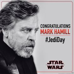 👁🖤💎🌟💫✨👱🏻‍♂️👏🏻👏🏻 It's #JediDay! Raise your lightsabers in honor of @HamillHimself as he receives his star on the Hollywood Walk of Fame. Follow us for live tweets from the event! #TheLastJedi