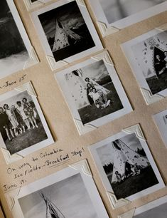 Photographs in Black and White #photography A post on VixenVintage blog shows all kinds of old photographs. Wish I had kept ours.