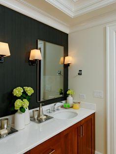 Bathroom Accent Wall wallpaper accent wall master bedroom | design ideas 2017-2018