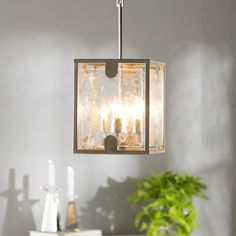 Brayden Studio Stills 4-Light Lantern Pendant