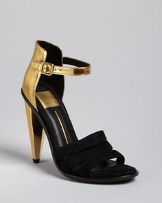 Spice up that little black dress, with gold accents! Strappy Evening Sandals. #iyetadescoop #flyygirl #fashionista www.iyetadescoop.wordpress.com