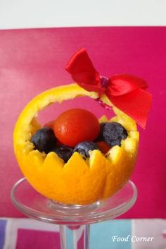 Fruit Carving Arrangements and Food Garnishes: Cute