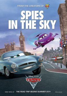 Cars 2 international poster Disney Pixar Cars, Disney Movies, Disney Disney, Disney Style, Cars 2 Movie, Film Cars, Toy Story, Animated Movie Posters, Radiator Springs
