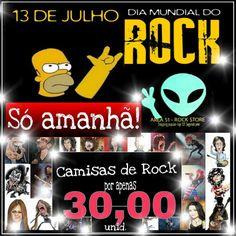 No dia mundial do Rock quem sai ganhando é você!