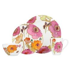 @Overstock.com - Add a touch of style to your kitchen with this four-piece dinnerware set from Lenox. A floral pattern highlights this dinnerware set.http://www.overstock.com/Home-Garden/Lenox-Floral-Fusion-4-piece-Porcelain-Dinnerware-Set/7827578/product.html?CID=214117 $44.99