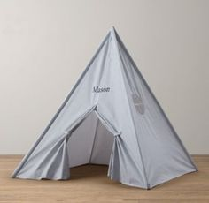 Printed Canvas Play Tent_Restoration Hardware Baby and Child_$269