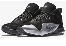 b51670209bad NIKE ZOOM PENNY VI MEN BASKETBALL SHOES NEW SIZE 9 BLACK SUEDE 749629-002  Silver