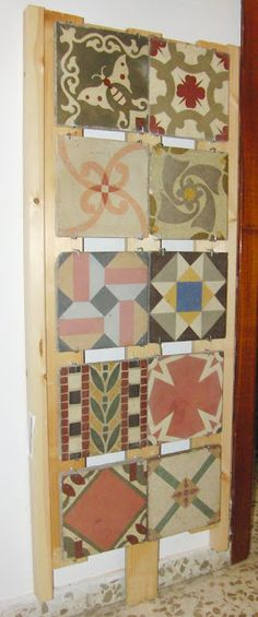 Part of collection. Mesa Bonita has been collecting hydraulic tiles for the past…